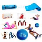 Cosfer Endpoint Pilates Seti 2 4mm Yoga Matı Mavi