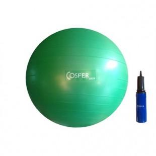 Cosfer Pilates Topu Yeşil Renk 65cm. ve Pompa