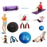 Cosfer Endpoint Pilates Seti 4mm Yoga Matı Mor
