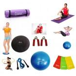 Cosfer Endpoint Deluxe Pilates Seti 4mm Yoga Matı Mor