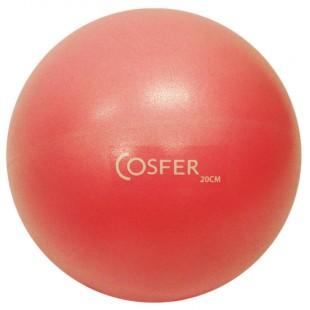Cosfer Pilates Topu 20cm. Kırmızı