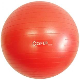 Cosfer Pilates Topu 75 cm. Kırmızı