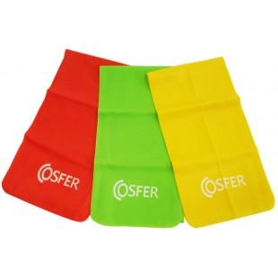 Cosfer- C2454 ( Hafif & Orta & Yüksek ) 3,Lü Pilates Bant Seti