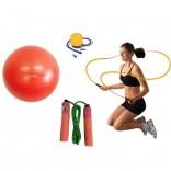 Cosfer 65cm Pilates Topu ve Sayacli Atlama İpi