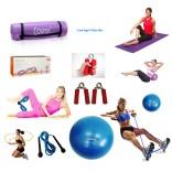Cosfer Endpoint Pilates Seti 2 4mm Yoga Matı Mor