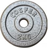 Cosfer 2Kg Gri Döküm Plaka