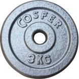 Cosfer 3Kg Gri Döküm Plaka