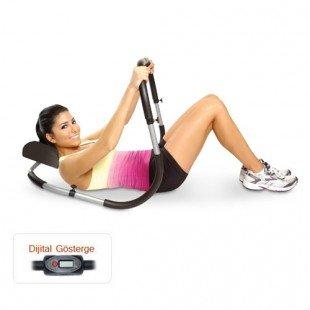 Dijital Göstergeli Ab Roller Mekik Egzersiz Aleti