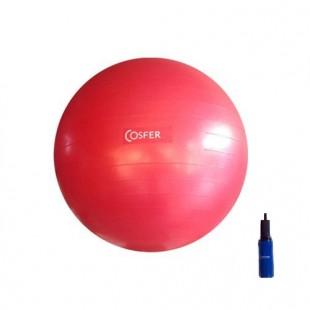 Cosfer Pilates Topu Fuşya Renk 65cm. ve Pompa