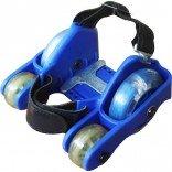 4 Tekerlekli Işıklı Paten Mavi