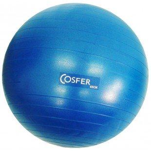 Cosfer Pilates Topu Mavi Renk 65cm. ve Pompa