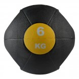 Valeo 6 Kg Tutacaklı Sağlık Topu -Sarı