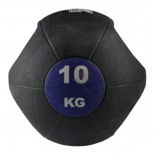Valeo 10 Kg Tutacaklı Sağlık Topu -Mor