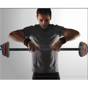 Iron Body 20 KG Barbell Set