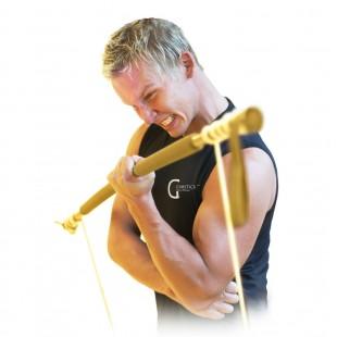 Gymstick Original (Çok Sert) Pilates Barı - Altın Rengi