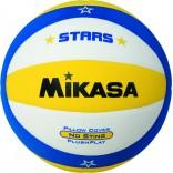 Mikasa VSV-STARS-Y Plaj Voleybol Topu - Sarı / Mavi / Beyaz