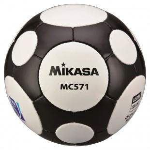 Mikasa Fifa Onaylı MC571-WBK Futbol Maç Topu - Siyah & Beyaz