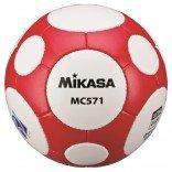 Mikasa Fifa Onaylı MC571-WR Futbol Maç Topu - Kırmızı & Beyaz