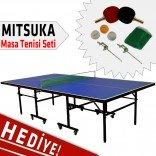 Mitsuka Fight Masa Tenis Masası + 2 Raket + 3 Top + Ağ-Demir HEDİYELİ