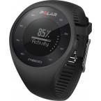 Polar M200 Bilekten Nabız Ölçen GPS'li Koşu Saati Siyah Renk + Kırmızı Kayış