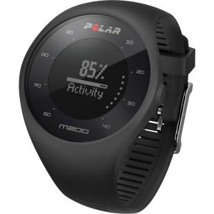 Polar M200 Bilekten Nabız Ölçen GPS'li Koşu Saati Siyah Renk + Kırmızı Kayış HEDİYE