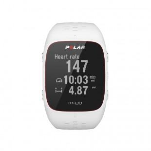 Polar M430 Beyaz Kalp Atış Monitörü Bilekten Nabız Ölçümü GPS'li Nabız Kontrol Saati