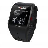 Polar V800 GPS'li Nabız Kontrol Saati BLK/HR + Göğüs Bandı