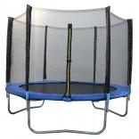Valeo 2,45m (8FT) Mavi Renk Trambolin (Güvenlik Ağıyla Birlikte Gönderilmektedir.)