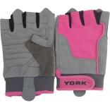 York Renkli Kumaş Ağırlık Eldiveni - Large 20317P