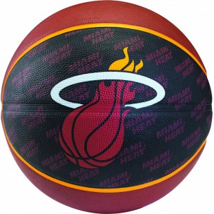 Spalding NBA Team Heat Basket Topu No:7