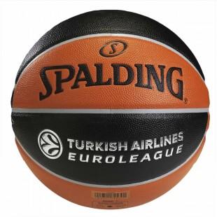 Spalding TF-500 Basket Topu Turkish Airlines Euroleague Basketbol No:5