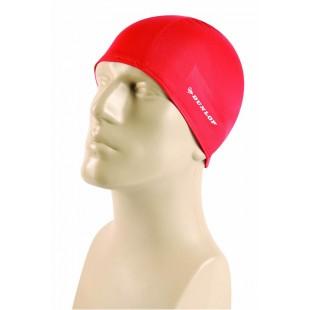 Dunlop Kırmızı Renkli Likra Yüzücü Bonesi - Yetişkinler İçin