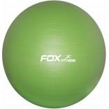 Fox Fitness 65 cm Gymball Yeşil Pilates Topu + El Pompası - Kutusuz