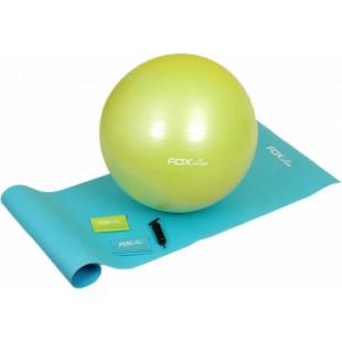 Fox Fitness 4'lü Pilates Seti 3 - (Pilates Top, Minder ve Egzersiz Bantları)