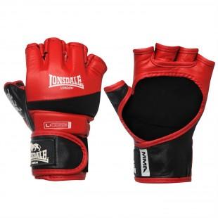 Lonsdale MMA Deri Siyah-Kırmızı Amatör Maç Boks Eldiveni (30484) XLarge