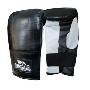 Lonsdale Pro Bag Mitt Bilek Yırtmaçlı Siyah-Beyaz Torba Eldiven - L / XL (56749)
