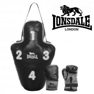 Lonsdale Hedefli Torba Eldiven Set (56942)