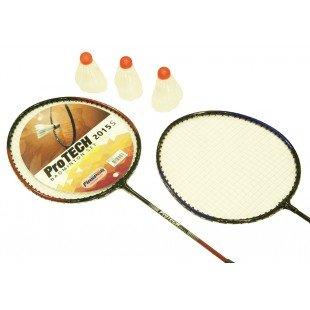 Protech 2015S Badminton Seti - 2 Raket + 3 Badminton Topu + Taşıma Çantası