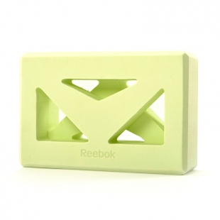 SHAPED YOGA BLOCK GREEN (RAYG-10035GN) REEBOK