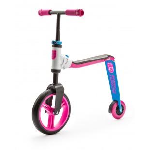 Scoot And Ride Pembe-Mavi Renk Highwaybuddy Ayarlanabilir Scooter
