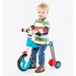 Scoot And Ride Mavi-Kırmızı Renk Highway Baby+ Ayarlanabilir Scooter