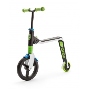 Scoot And Ride Beyaz-Yeşil-Mavi Renk Highfreak Ayarlanabilir Scooter