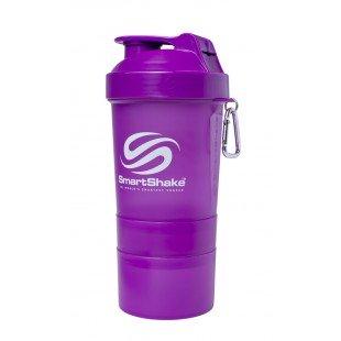 Smart Shake 600ML Neon Purple Shaker