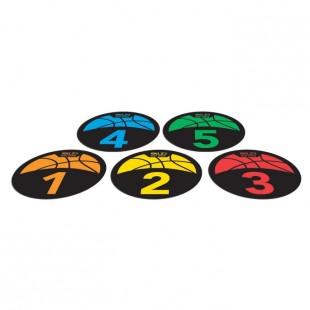 SKLZ Shot Spotz - Basketbol Antrenman İşaretleri ve Oyun Seti