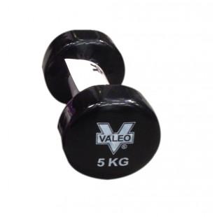 Valeo Vinyl 5 Kg Siyah Dambıl