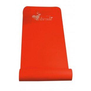 Ebruli Pilates Minderi 10 mm - Kırmızı Renkli