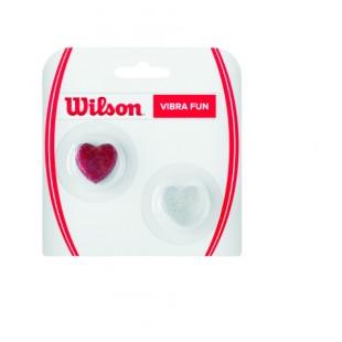 WILSON Vibra Fun Dampeners (WRZ537100) Glitter Hearts Titreşim Önleyici Tenis Aksesuarı