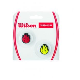 WILSON Vibra Fun Dampeners (WRZ537400) Flames Titreşim Önleyici Tenis Aksesuarı