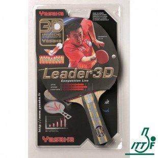 Yasaka Leader 3D Masa Tenisi Raketi - ITTF Onaylı
