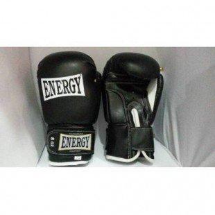 Energy Boks Eldiveni 12 Oz Siyah